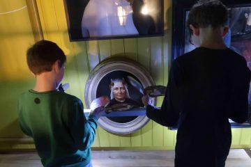 Familie tentoonstelling 'zee vol verhalen' in het Zuiderzeemuseum