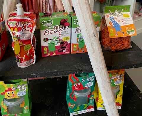 Kinderen meer groenten laten eten met Spoony