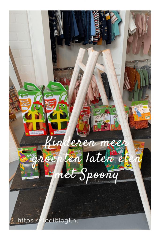 Kinderen meer groenten laten eten met Spoony #tips