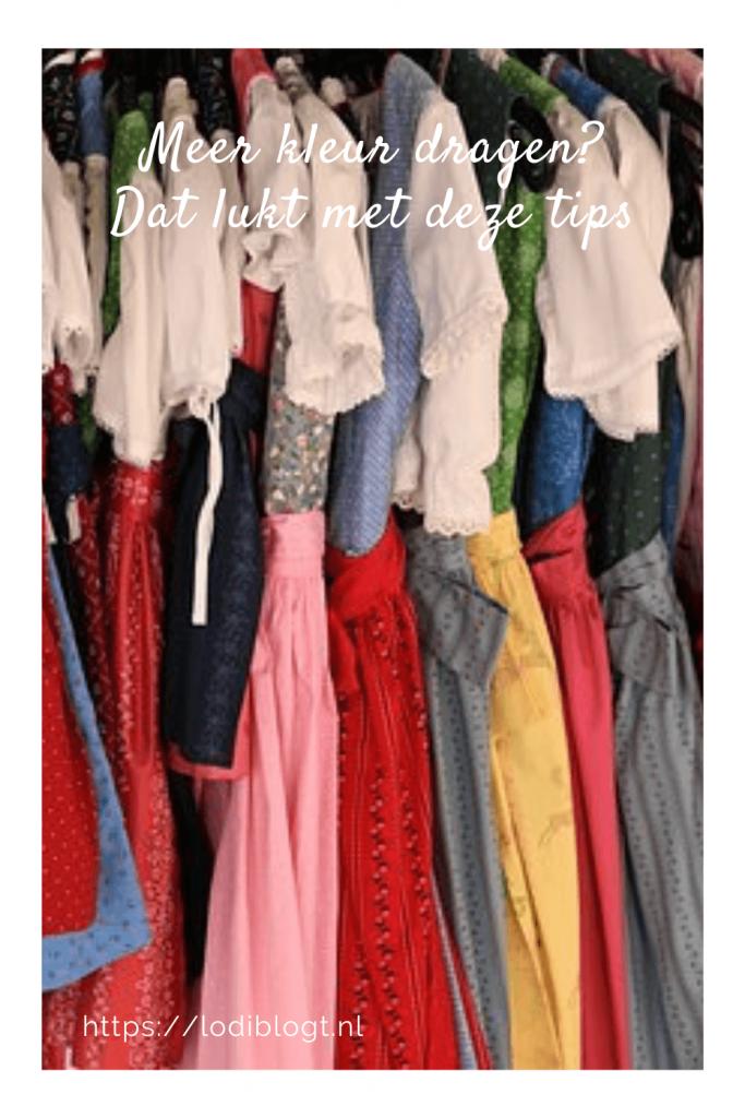 Meer kleur dragen? Dat lukt met deze tips #tips