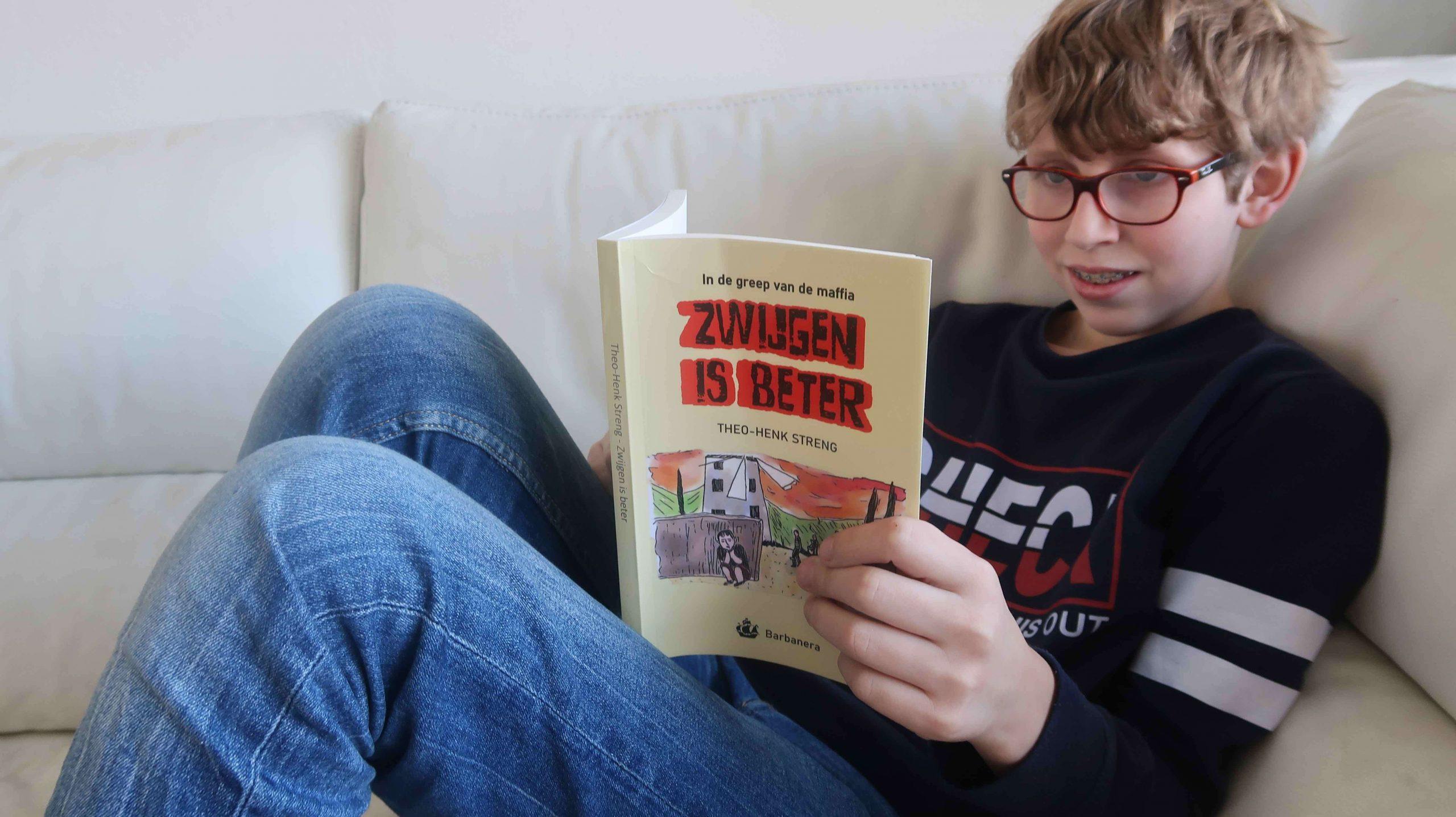 Review kinderboek - Zwijgen is beter van Henk-Theo Streng