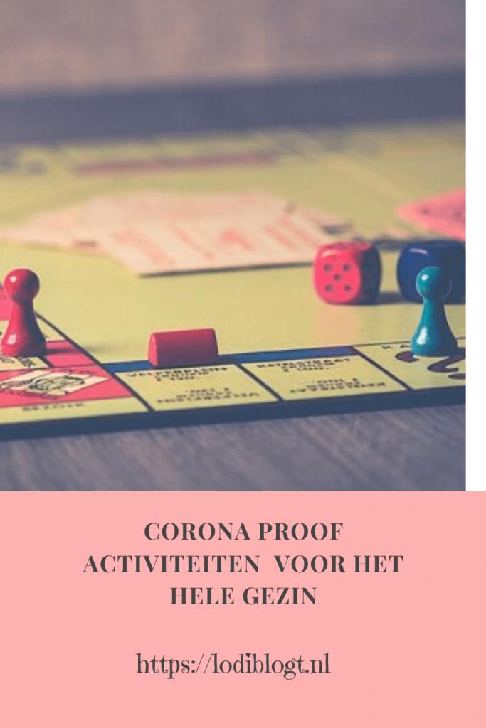 Corona Proof activiteiten  voor het hele gezin #tips
