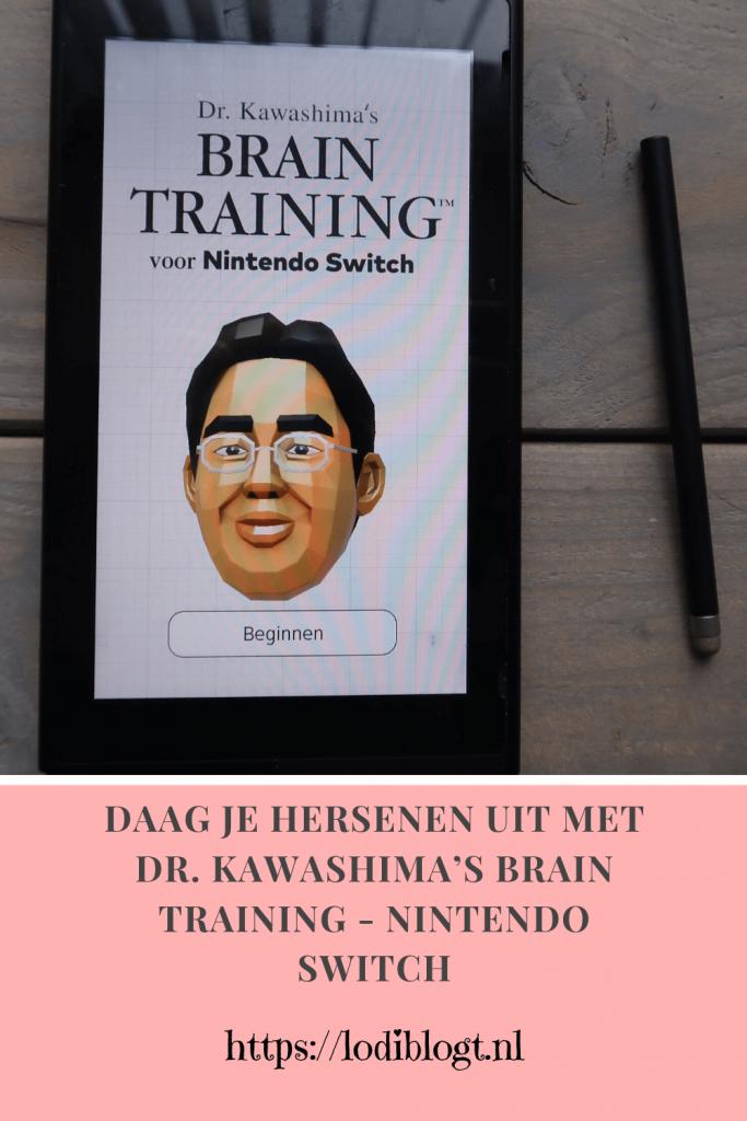 Daag je hersenen uit met Dr. Kawashima's Brain Training - Nintendo Switch