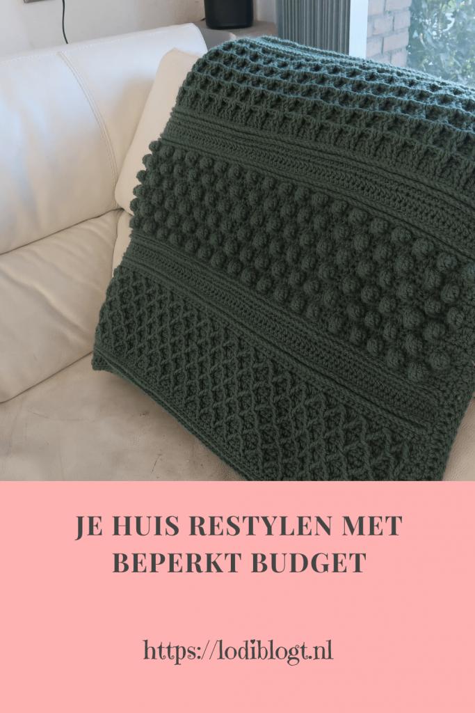 Je huis restylen met beperkt budget #tips