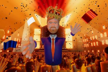 Koningsdag in virtual reality- Een festival voor het goede doel