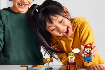 The LEGO Group en Nintendo onthullen de eerste LEGO® Super Mario TM details