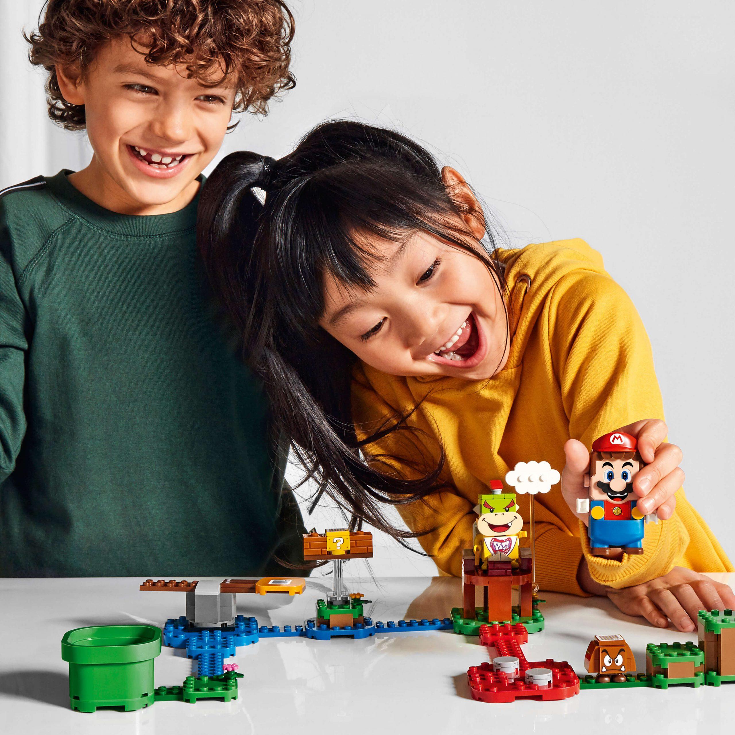 The LEGO Group en Nintendo onthullen de eerste LEGO® Super Mario TM details