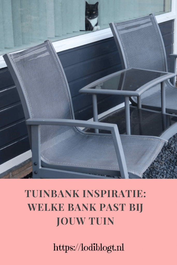 Tuinbank inspiratie: welke bank past bij jouw tuin