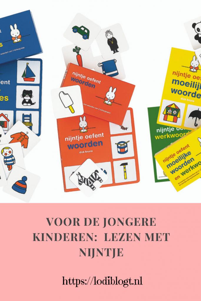 Voor de jongere kinderen:  lezen met nijntje #tips
