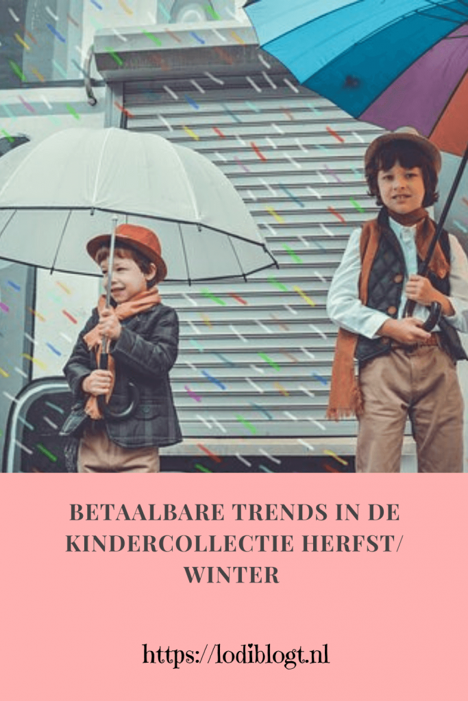 Betaalbare trends in de kindercollectie herfst/ winter 2019