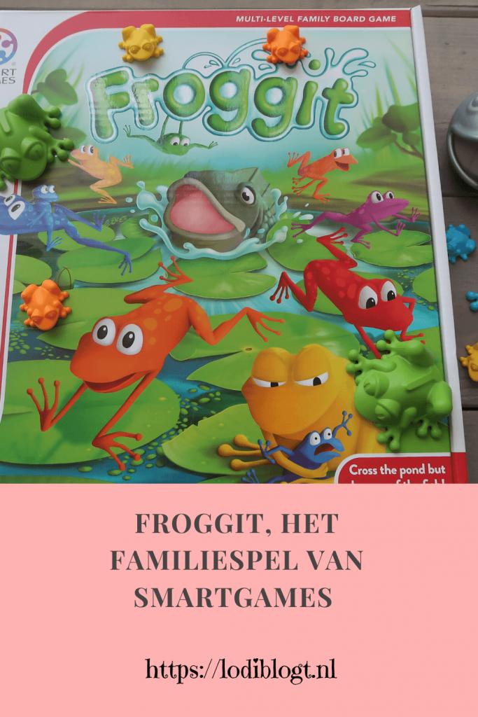 Froggit, het familiespel van Smartgames #review #tip