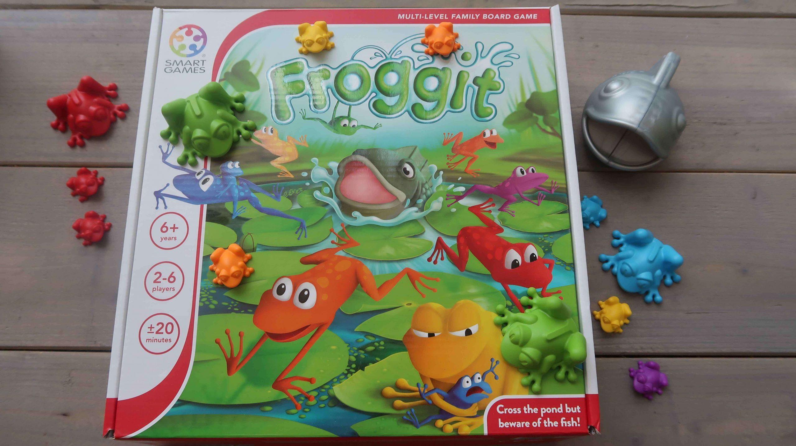 Froggit, het familiespel van Smartgames