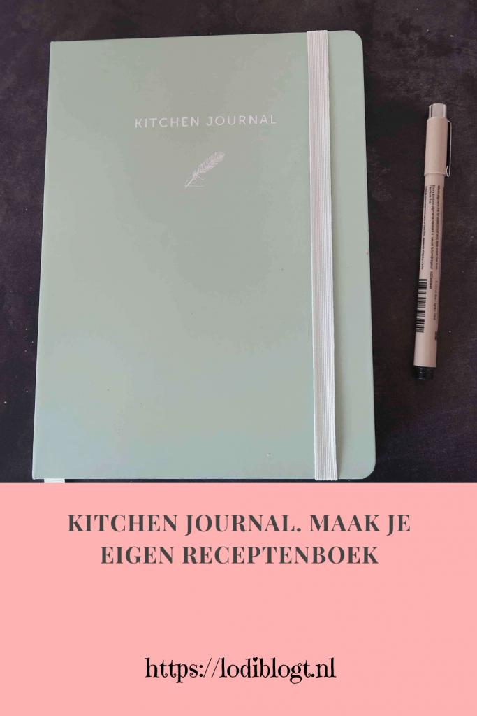 Kitchen Journal. Maak je eigen receptenboek