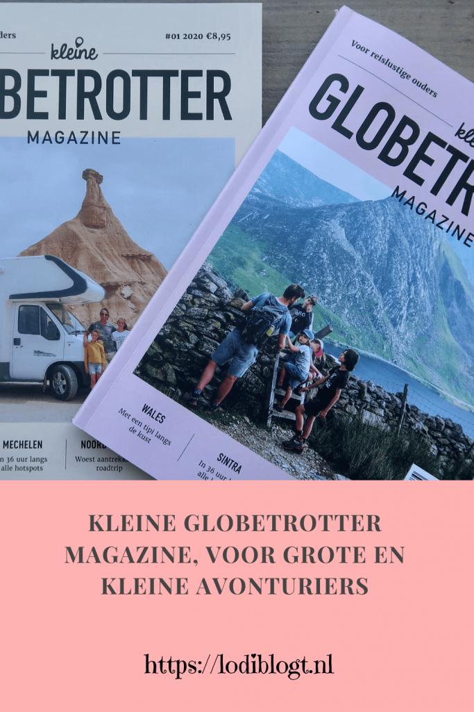 Kleine Globetrotter Magazine, voor grote en kleine avonturiers