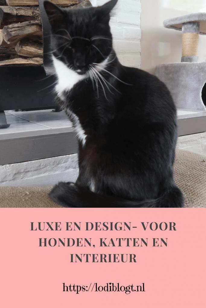Luxe en design- voor honden, katten en interieur
