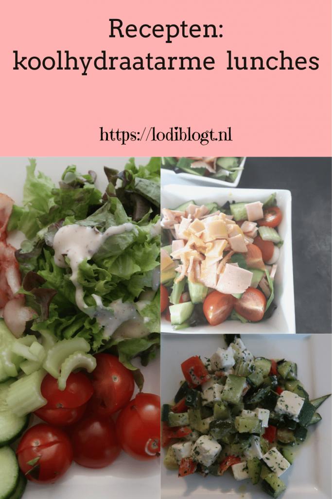 Recepten: koolhydraatarme  lunches