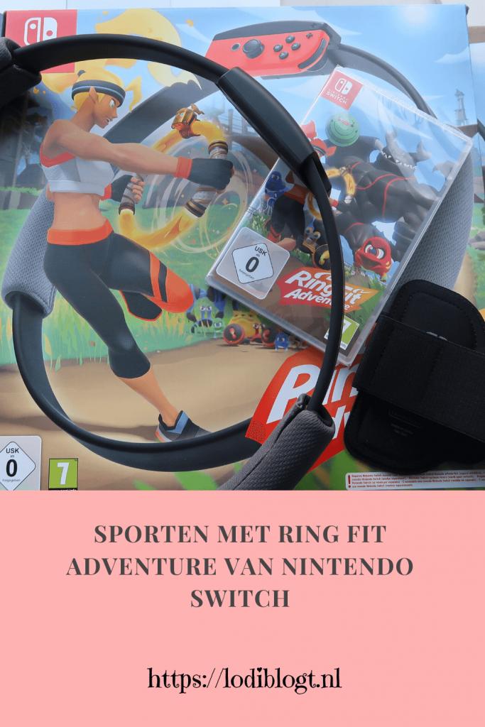 Sporten met Ring Fit Adventure van Nintendo Switch