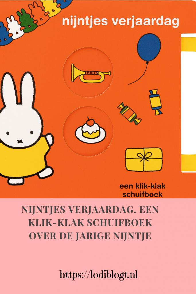 nijntjes verjaardag. Een klik-klak schuifboek over de jarige nijntje #tip