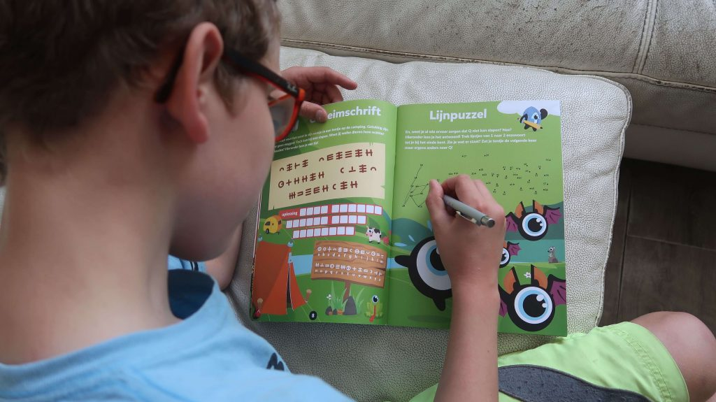 Blijven leren in de zomervakantie met Squla - Denksport junior