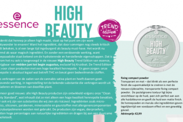 essence High Beauty Trend Edition met hennepzaad olie