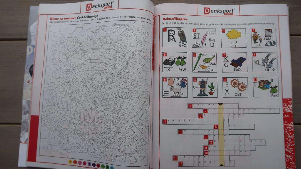 Denksport Magazine.  Gevarieerd puzzelplezier