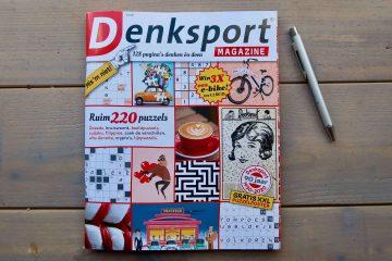 Denksport Magazine. Uren lang puzzelplezier