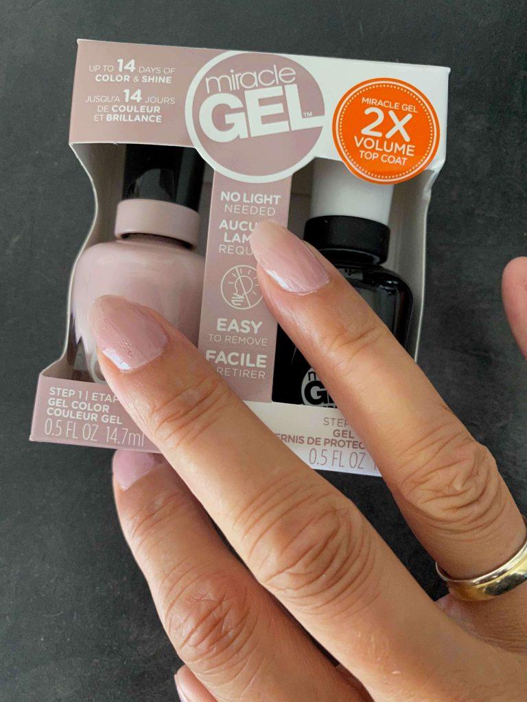Perfect verzorgde nagels met gel nagellak