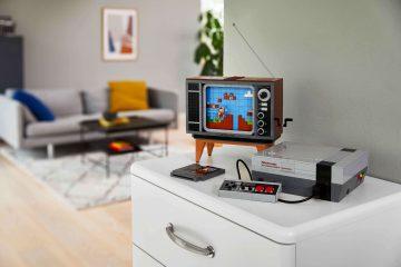 The LEGO Group onthult vandaag de LEGO Nintendo Entertainment System (NES) bouwset voor volwassenen