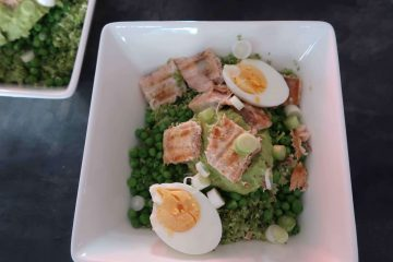 Bowl recept: broccoli rijst met zalm
