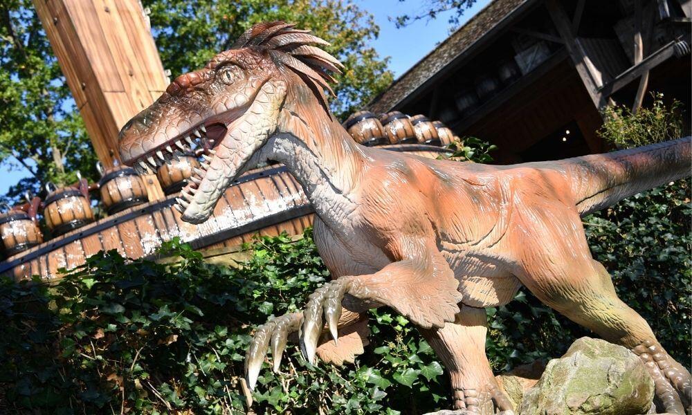 Dino's op Duinrell- In de maand oktober zijn ze er weer