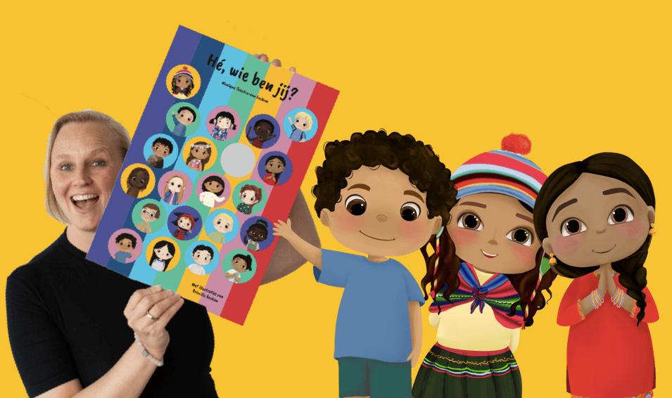 Crowdfunding en pre-order- kinderboek Hé wie ben jij?