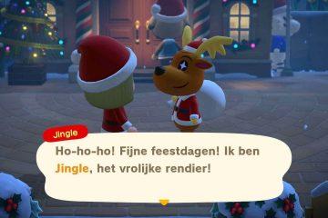 Winterupdate Animal Crossing New Horizons