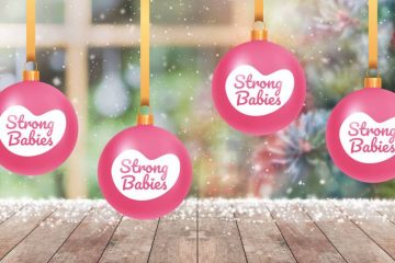 De online Kerstballen actie van Strong Babies
