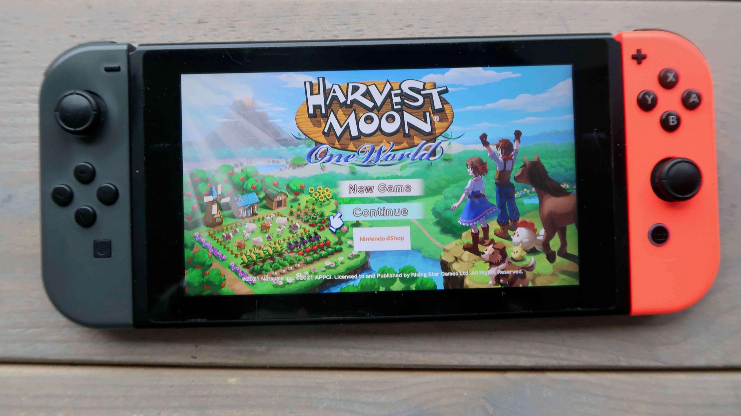Harvest Moon: One World- Nintendo switch