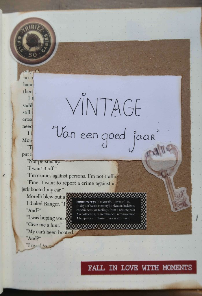 Pagina inspiratie- Begin pagina's voor een Bullet Journal