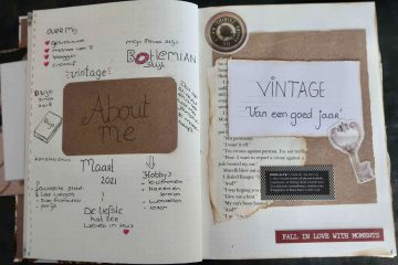 Pagina inspiratie bullet journal