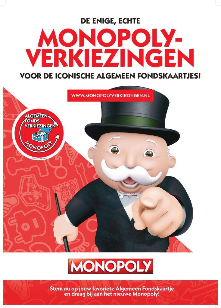 verkiezingen Algemeen Fonds-kaarten, Monopoly