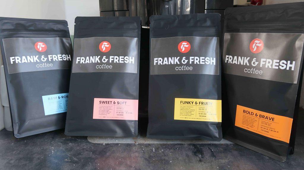 Frank & Fresh Coffee- Vers gebrand voor jou