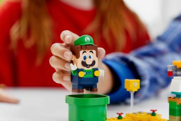 Uitbreiding set van LEGO: een 'Avonturen met Luigi' startset