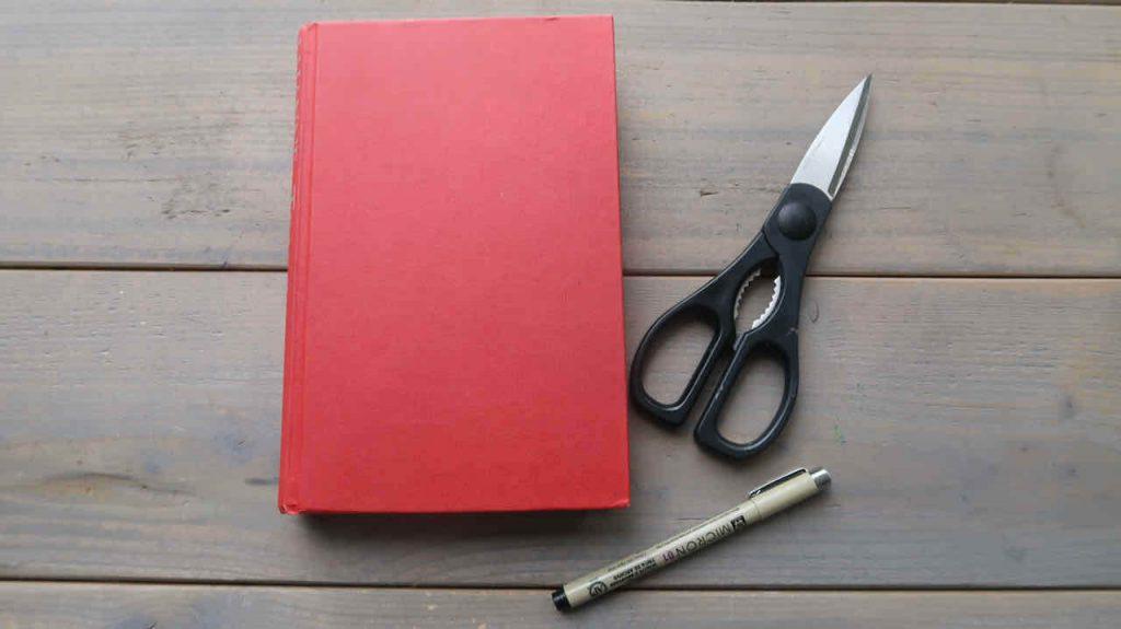 Een Altered Book Journal- DIY met uitleg