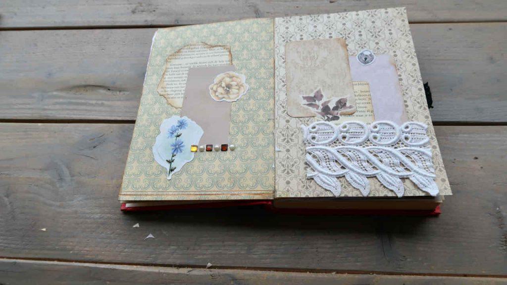 Hoe maak je een Altered Book Journal- DIY met uitleg